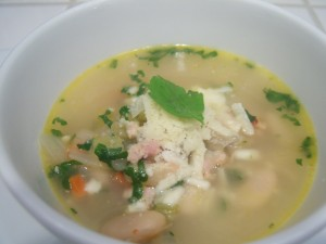 Spicy Chicken & White Bean Soup