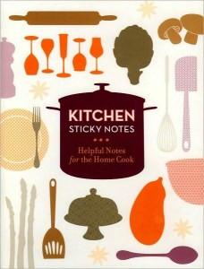 Foodie Find: Kitchen Sticky Notes
