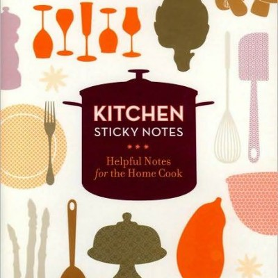 Foodie Find: Kitchen Sticky Notes